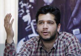 پیام علی بیانی به دبیرتشکیلات دفتر تحکیم وحدت در پی بی حرمتی فتنه گران به این دانشجوی انقلابی