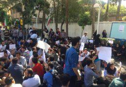 تجمع اعتراضی در دانشگاه بهشتی و شریف