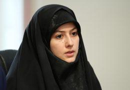 خانم عزیزی،دبیر جدید واحد سیاسی دفتر تحکیم وحدت